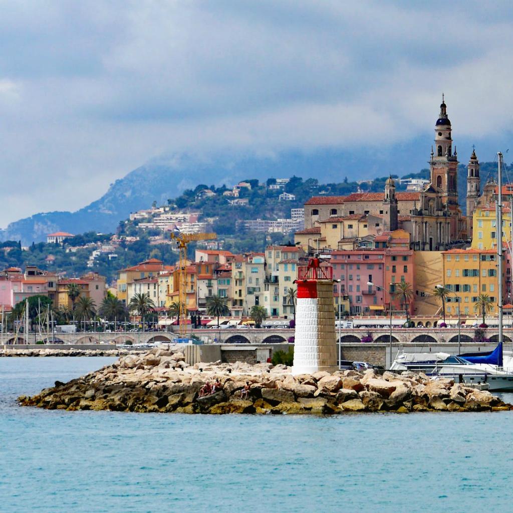 Stadje in Zuid-Frankrijk
